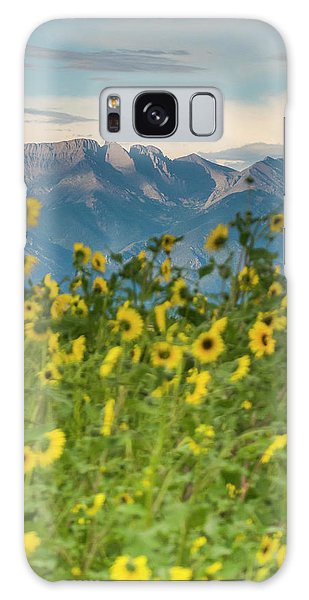 Sangre De Cristo Galaxy S8 Case - Sunflowers In The San Luis Valley by Kennan Harvey