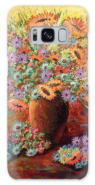 Sunflowers Galaxy Case