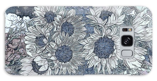 Sunflowers Paris Galaxy Case by Jack Torcello