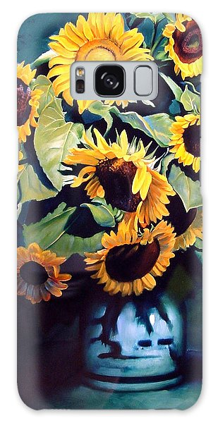 Galaxy Case - Sunflowers by Patrick Anthony Pierson
