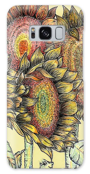 Sunflowers Revisited Galaxy Case