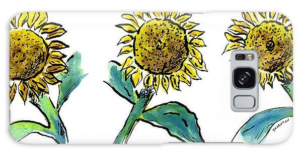 Sunflowers Trio Galaxy Case