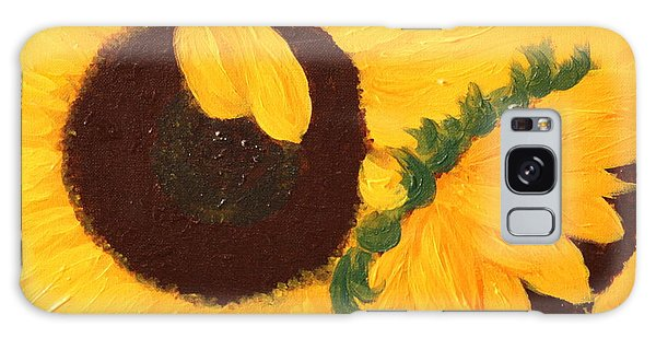 Sunflowers Two Galaxy Case