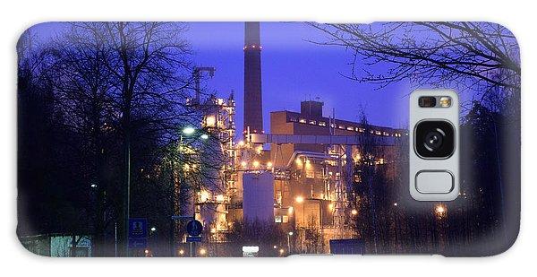 Sunila Pulp Mill By Rainy Night Galaxy Case