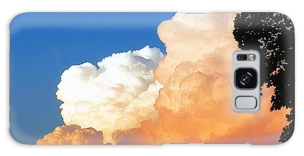 Sunkissed Storm Cloud Galaxy Case
