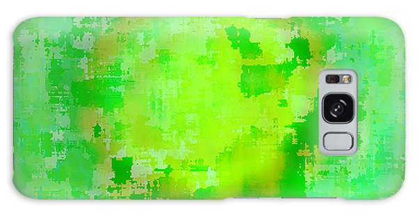 Original Abstract Art Painting Sunlight In The Trees  Galaxy Case