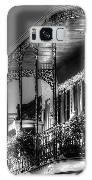 Sunlight On New Orleans Balcony Galaxy Case