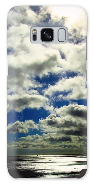 Sunlight Through The Clouds Galaxy Case
