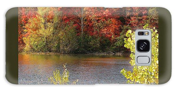 Sunlit Autumn Galaxy Case by Ann Horn