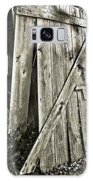 Sunlit Barn Door Galaxy Case by Greg Jackson
