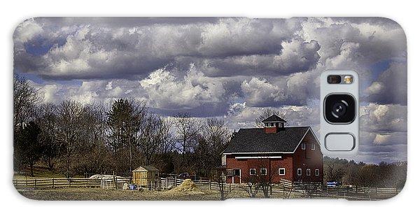 Sunlit Farm Galaxy Case by Betty Denise