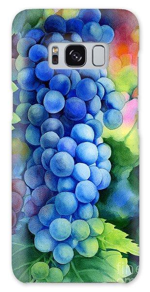 Grape Galaxy Case - Sunlit Grapes by Hailey E Herrera