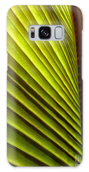 Sunlit Leaf Galaxy Case