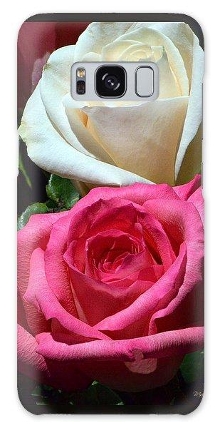 Sunlit Roses Galaxy Case