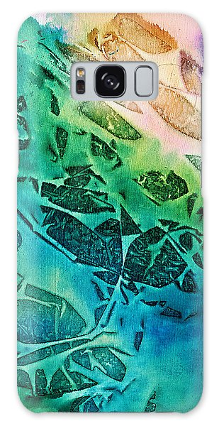Sunlit Waves Galaxy Case