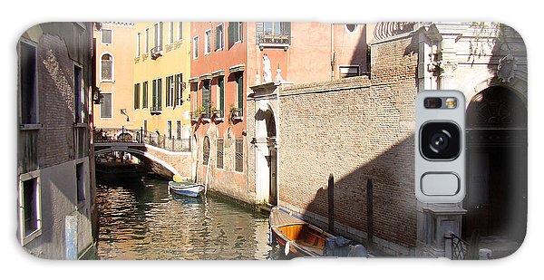 Venice Sunny Afternoon Galaxy Case by Walter Fahmy