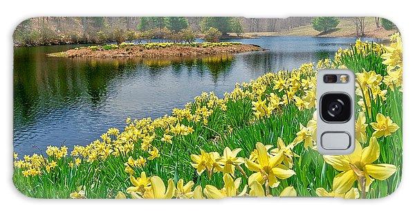 Sunny Daffodil Galaxy Case