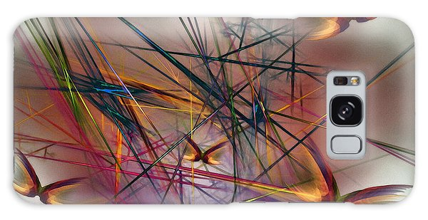 Sunny Day-abstract Art Galaxy Case