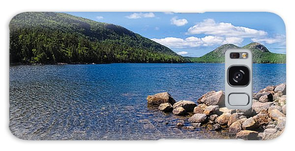 Sunny Day On Jordan Pond   Galaxy Case