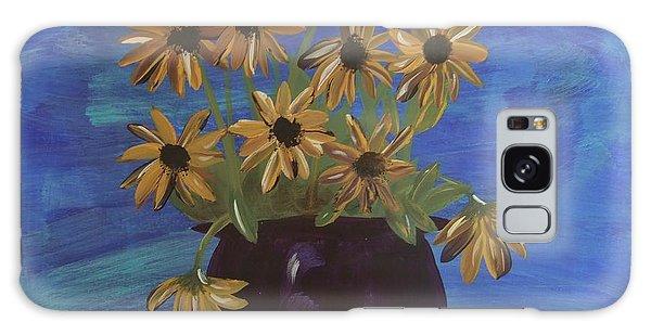 Sunny Day Sunflowers Galaxy Case