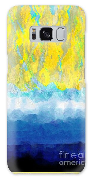 Sunny Day Waters Galaxy Case by Darla Wood