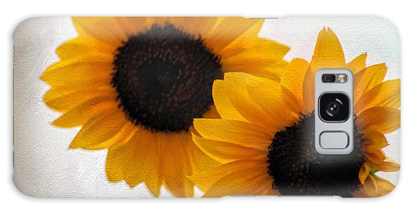 Sunny Flower On A Rainy Day Galaxy Case by Tammy Espino