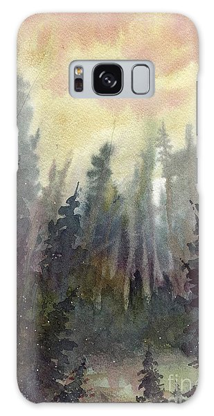 Sunny Forest Galaxy Case by Tim Oliver
