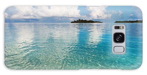 Sunny Invitation For  You. Maldives Galaxy Case by Jenny Rainbow