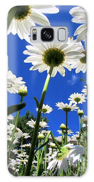 Sunny Side Up Galaxy Case by Pamela Clements