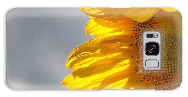 Sunny Sunflower Galaxy Case by Cheryl Baxter