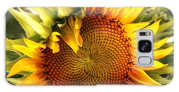Sunny Sunflower Galaxy Case