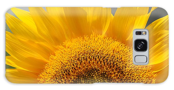 Sunny Sunflower Galaxy Case by Olivia Hardwicke