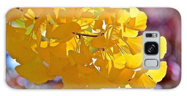 Sunny Yellow Ginkgo Galaxy Case
