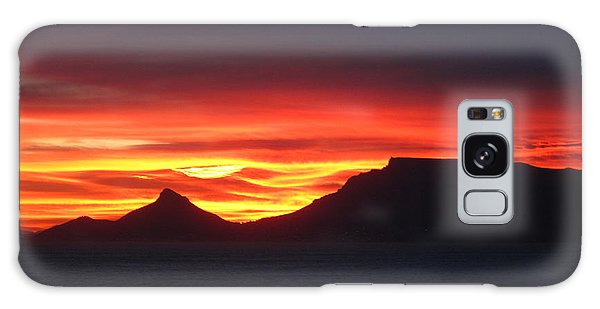 Sunrise Over Table Mountain Galaxy Case