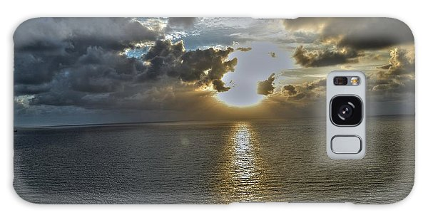 Sunrise Above Fort Lauderdale Beach Florida Galaxy Case by Timothy Lowry
