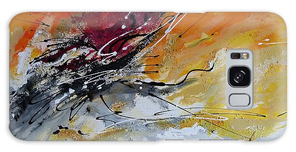 Sunrise - Abstract Art Galaxy Case by Ismeta Gruenwald