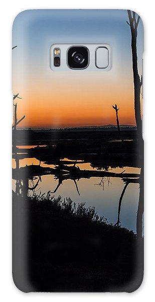 Sunrise Across The Sacred Land Galaxy Case