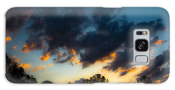 Sunrise And Clouds Galaxy Case by Ursula Lawrence