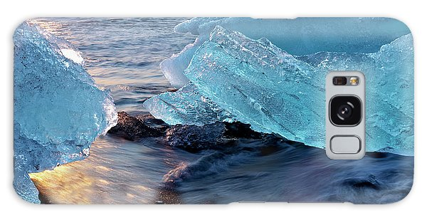 Ecosystem Galaxy Case - Sunrise And Iceberg Formation by Tom Norring