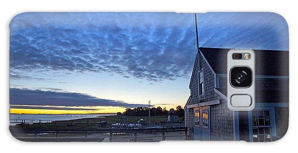 Sunrise At Barnstable Yacht Club Galaxy Case