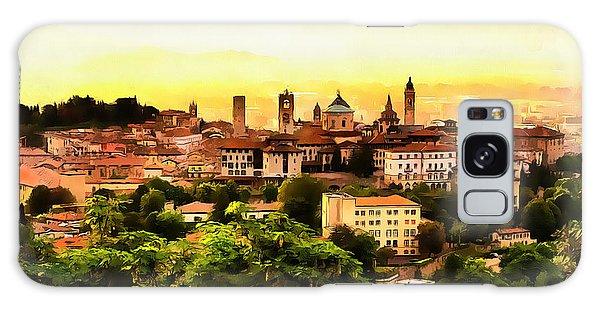 Sunrise At Bergamo Galaxy Case