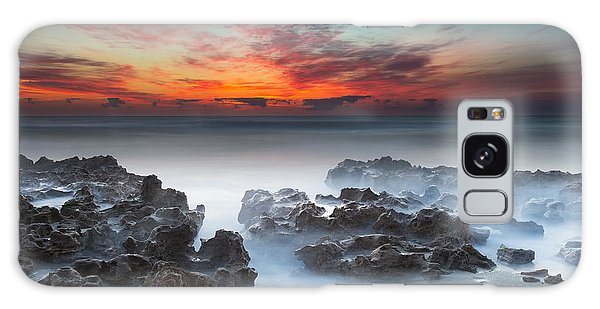 Sunrise At Blowing Rocks Preserve Galaxy Case