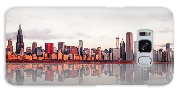 Sears Tower Galaxy S8 Case - Sunrise At Chicago by Marcin Kopczynski