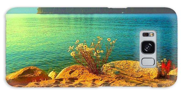 Sunrise At Daisy Lake Galaxy Case