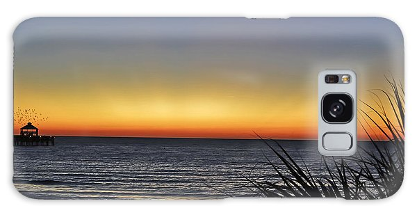 Sunrise At Folly Galaxy Case