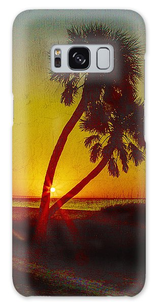 Sunrise At Fort De Soto Galaxy Case