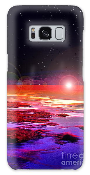 Sunrise At Fourty Thousand  Galaxy Case by Adam Olsen