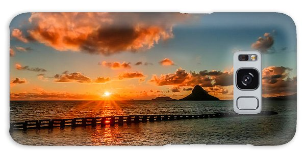 Sunrise At Hawaii Chainaman's Hat Galaxy Case