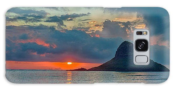 Sunrise At Kualoa Park Galaxy Case by Dan McManus