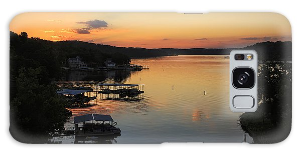 Sunrise At Lake Of The Ozarks Galaxy Case